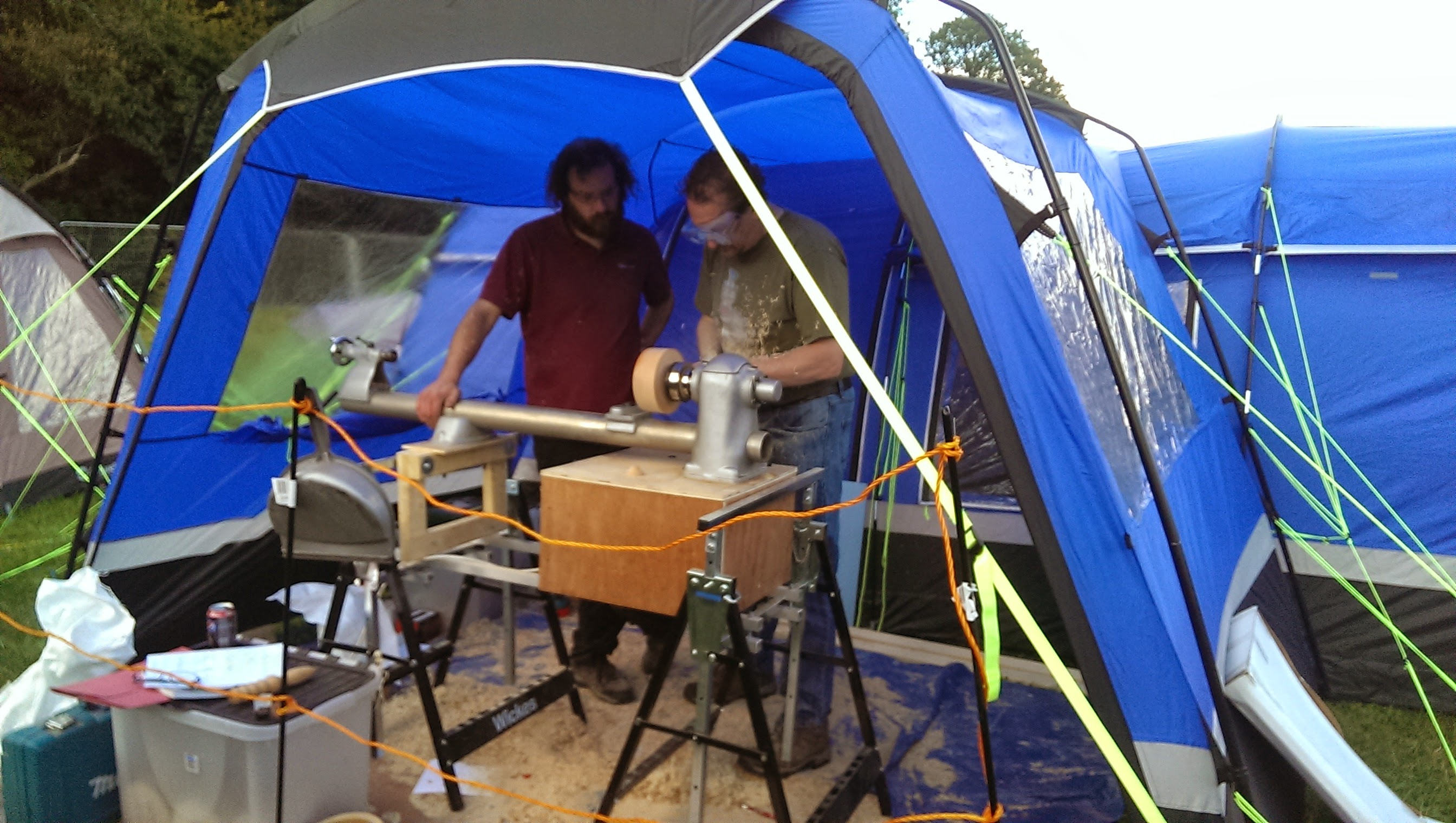 The Wood-Turning at EMF