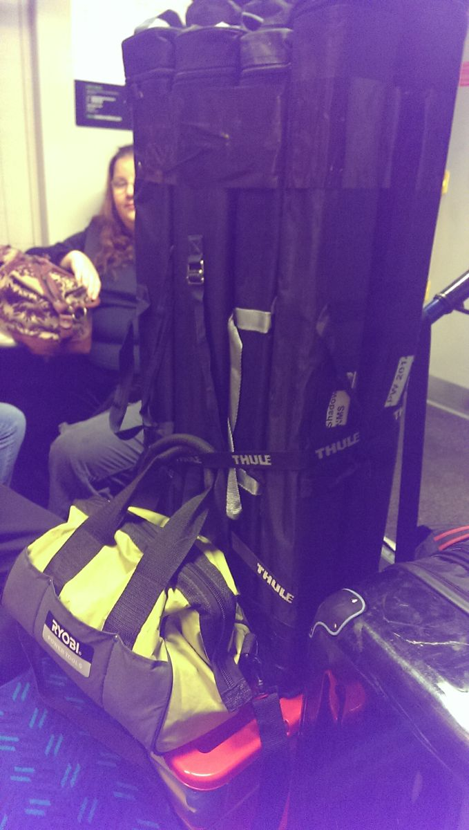 It was 6.15 a.m. and the SC organising team were on a train into central London with piles of workshop materials