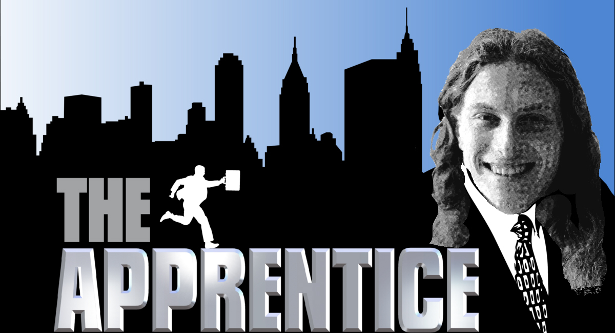 Matt as the Apprentice