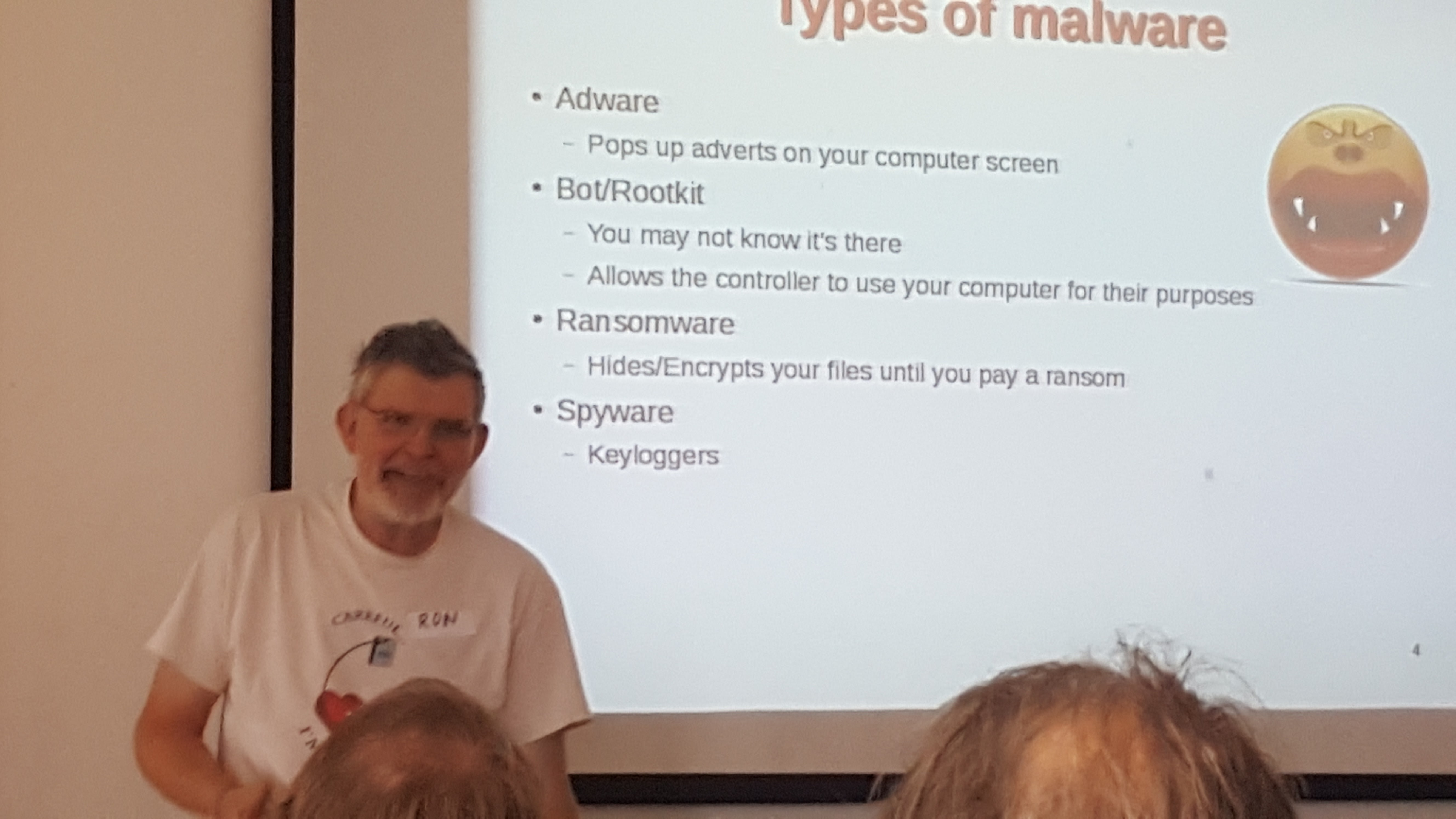 A good introductory talk to Malware
