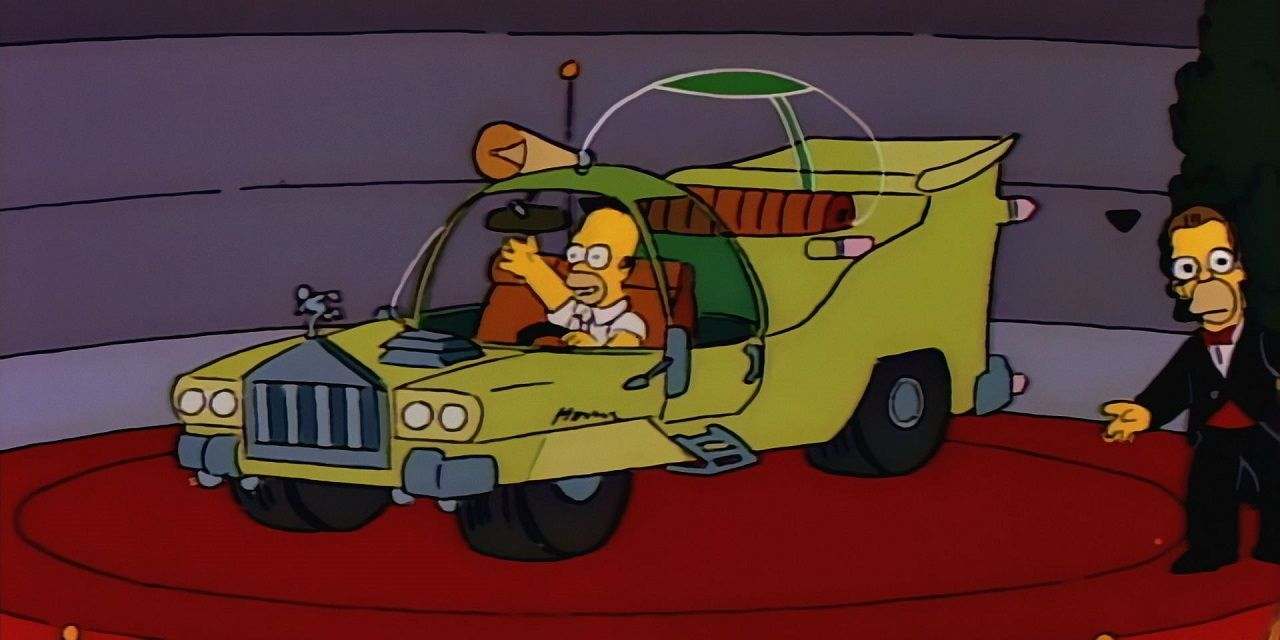 The Homer Simpson Car