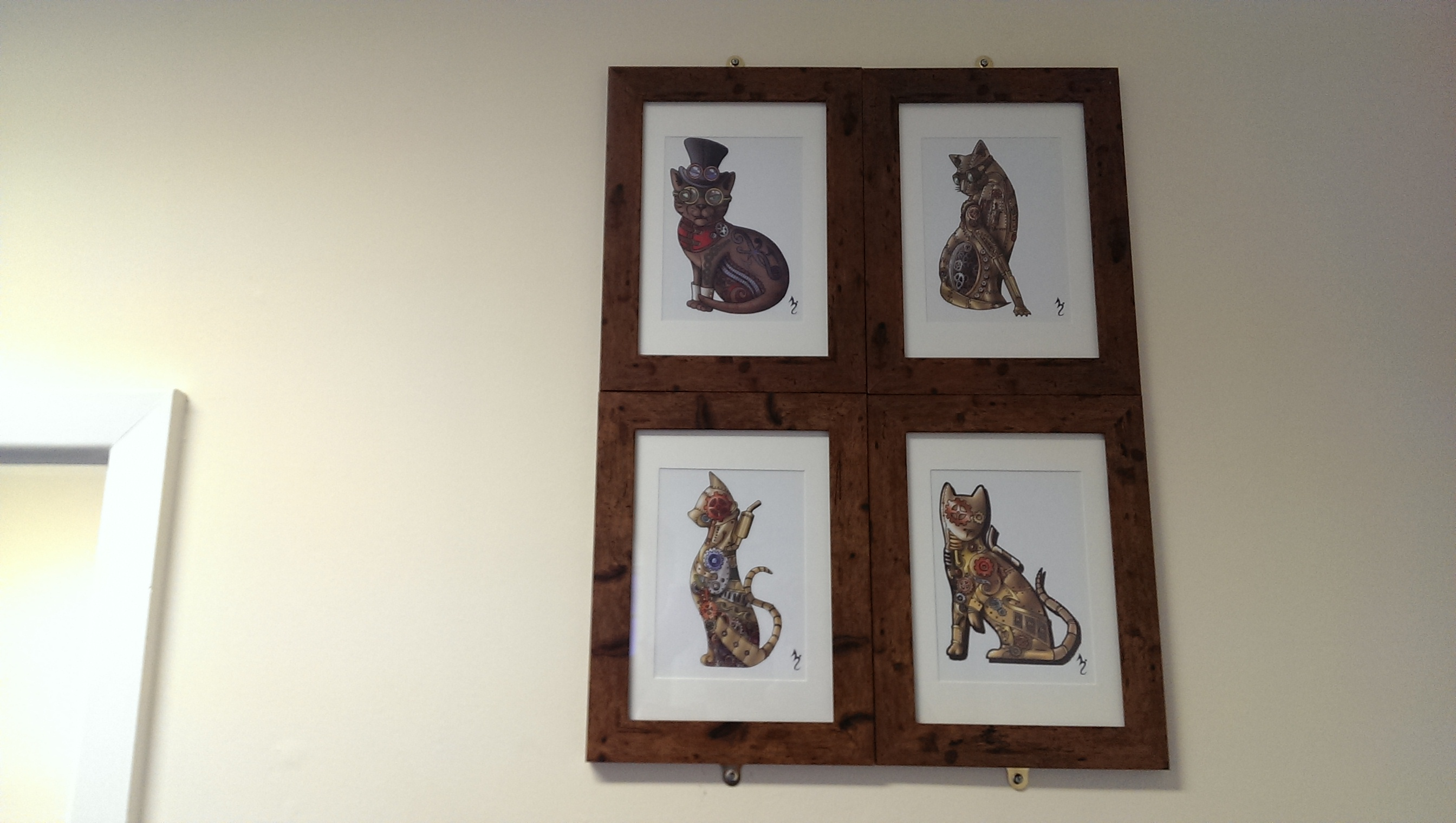 The Shadowcat Cats are Framed