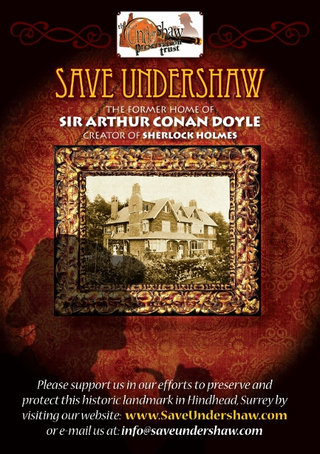 Save Undershaw Flyer