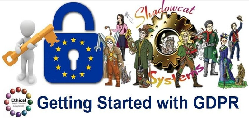 Header for the GDPR event for Shadowcat to help you start your GDPR journey