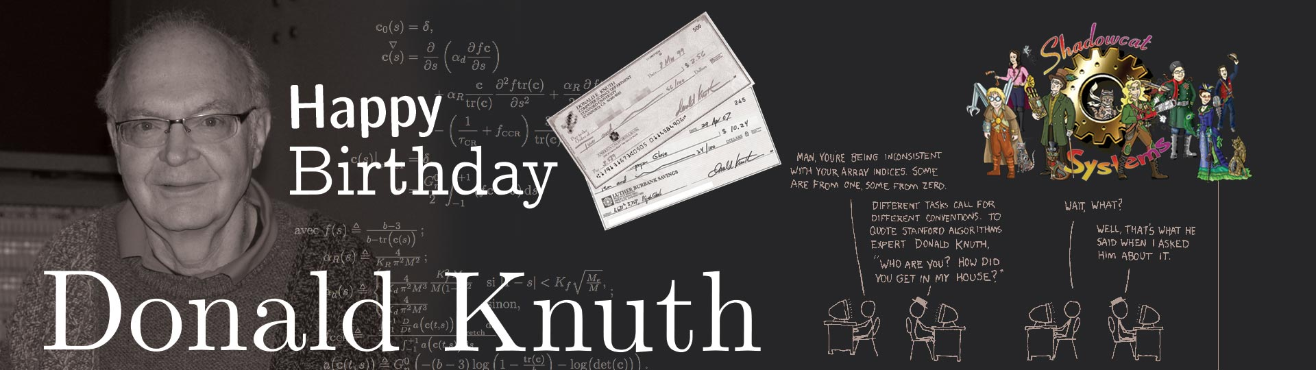 Donald Knuth Header
