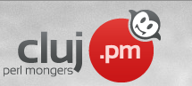 Logo for Cluj.pm